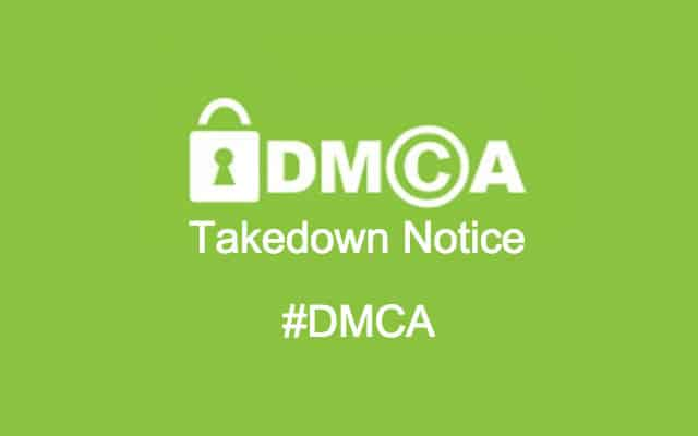 What Is A Dmca Takedown Notice